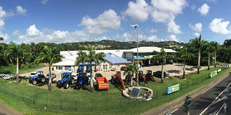 AMS Antilles, vue 360